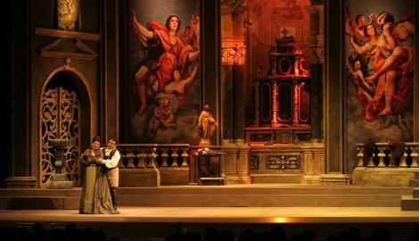Mario e Tosca duetto